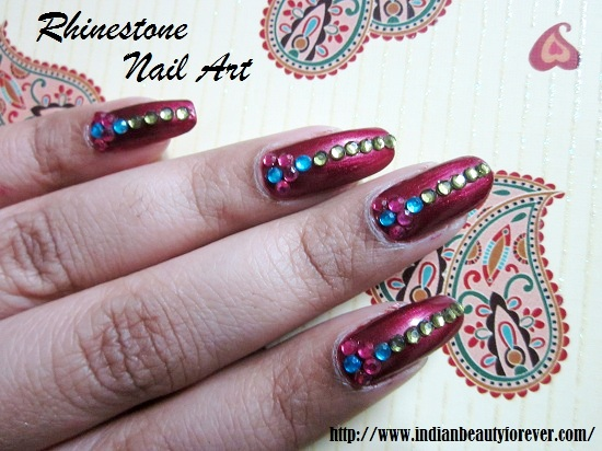 Indian Bridal nail art