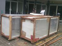 Pengiriman 2 Colly Panel Box Jakarta-Jambi