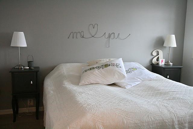 Neo arquitecturaymas manualidades con alambres para decorar - Como decorar la pared del cabecero de la cama ...