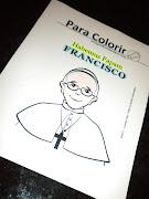 Páginas para colorear del Papa Francisco. ¡Qué maravilla!
