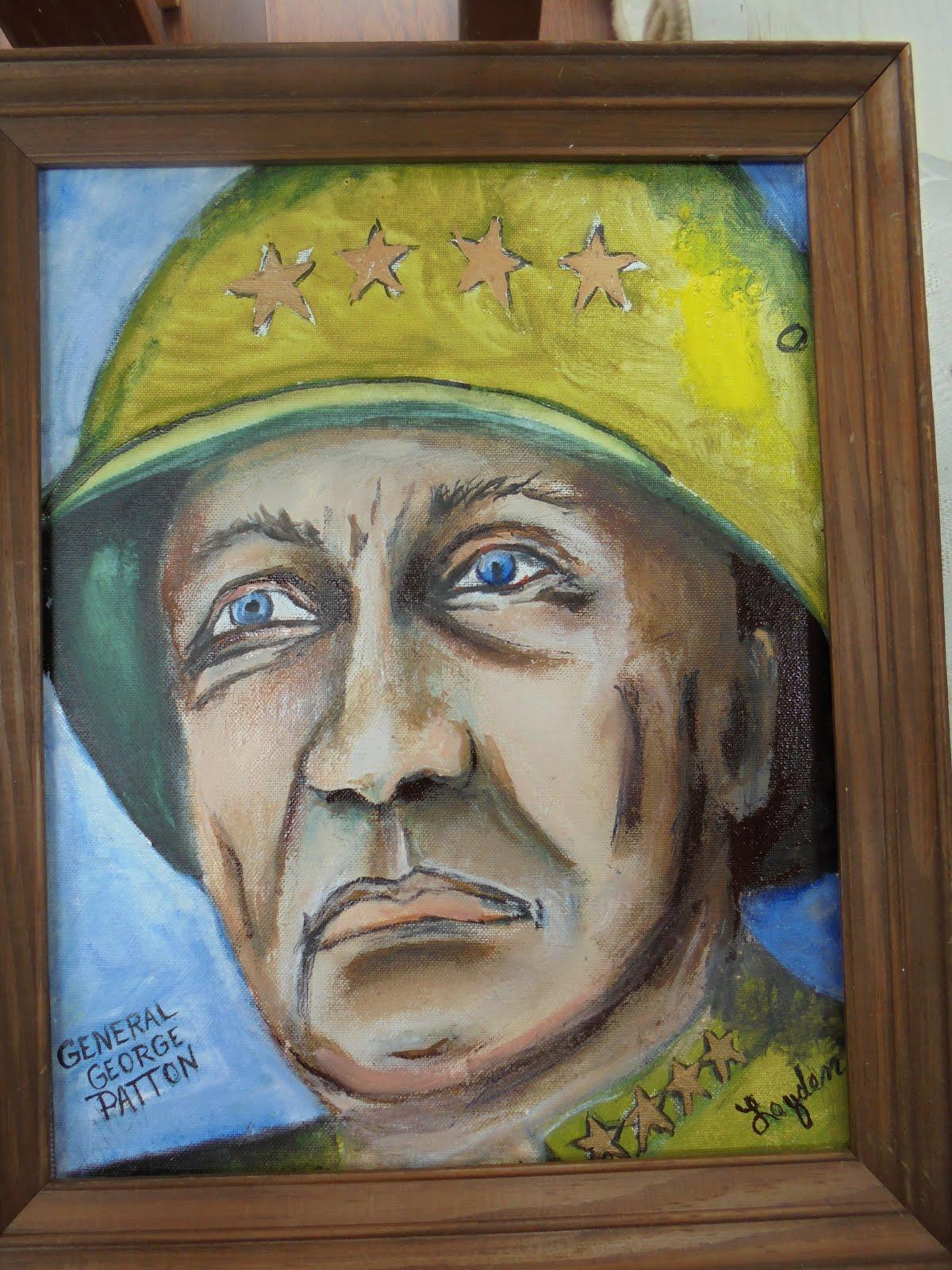 General Geo. Patton # 107