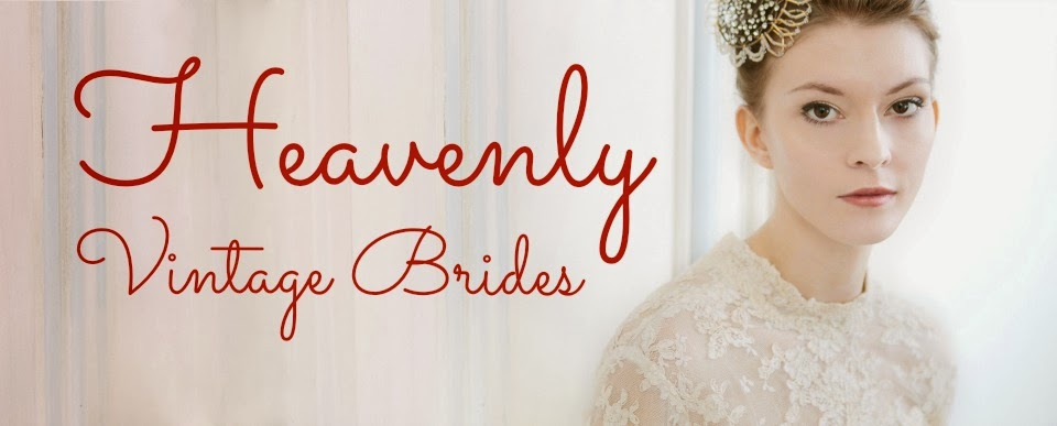 Heavenly Vintage Brides - UK vintage wedding blog