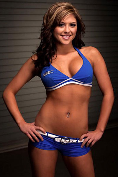 ufc mma fighter ring girl brittney palmer picture image