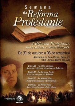 Semana da Reforma Protestante (AD Rocas, Natal - RN)