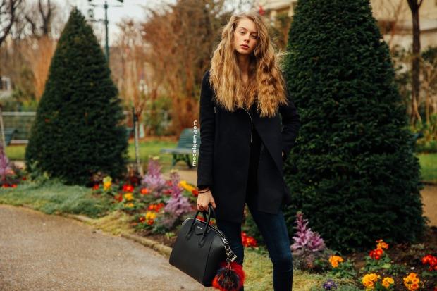 Lauren De Graaf, Paris, March 2016