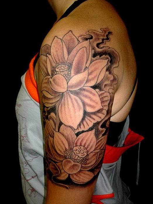 Tatueringar 25 lotus flower tattoo designs black and white lotus flower tattoo mightylinksfo