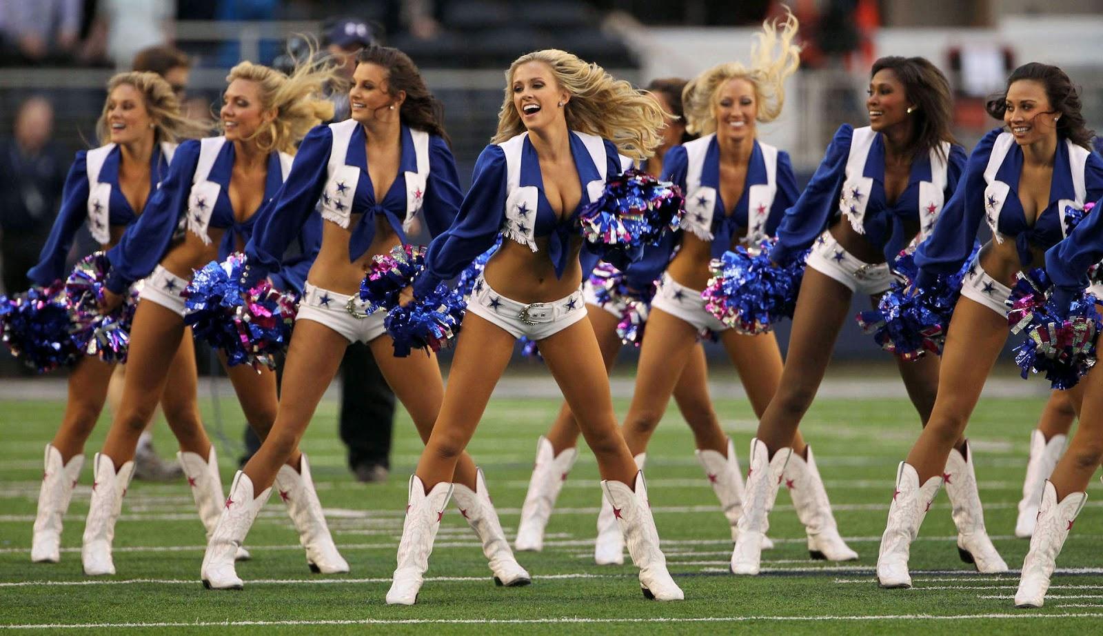 Dallas Cowboys Cheerleaders Calendar Template 2016
