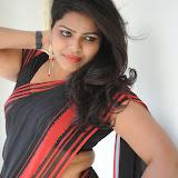 Sitara Hot Photos in Saree at Gundello Guchi Guchi Champake Movie Press Meet 36