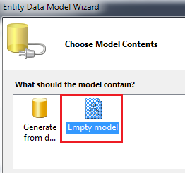 model-first example in entity framework