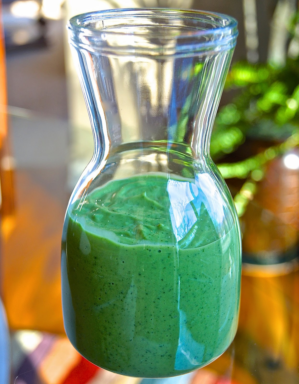 Healthy and Gourmet: Green Goddess Dressing