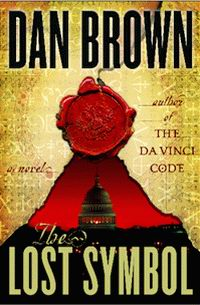 "Cover of ""The Lost Symbol"", a novel by Dan Brown"
