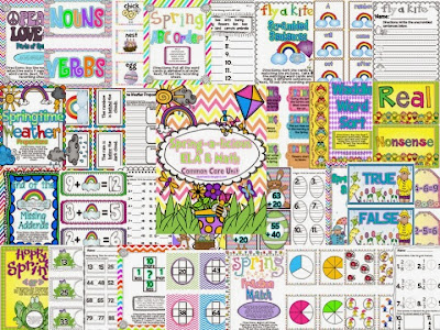 http://www.teacherspayteachers.com/Product/Spring-a-licious-ELA-Math-Unit-Common-Core-Aligned-637167