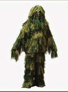 Tenue camouflage Ghillie