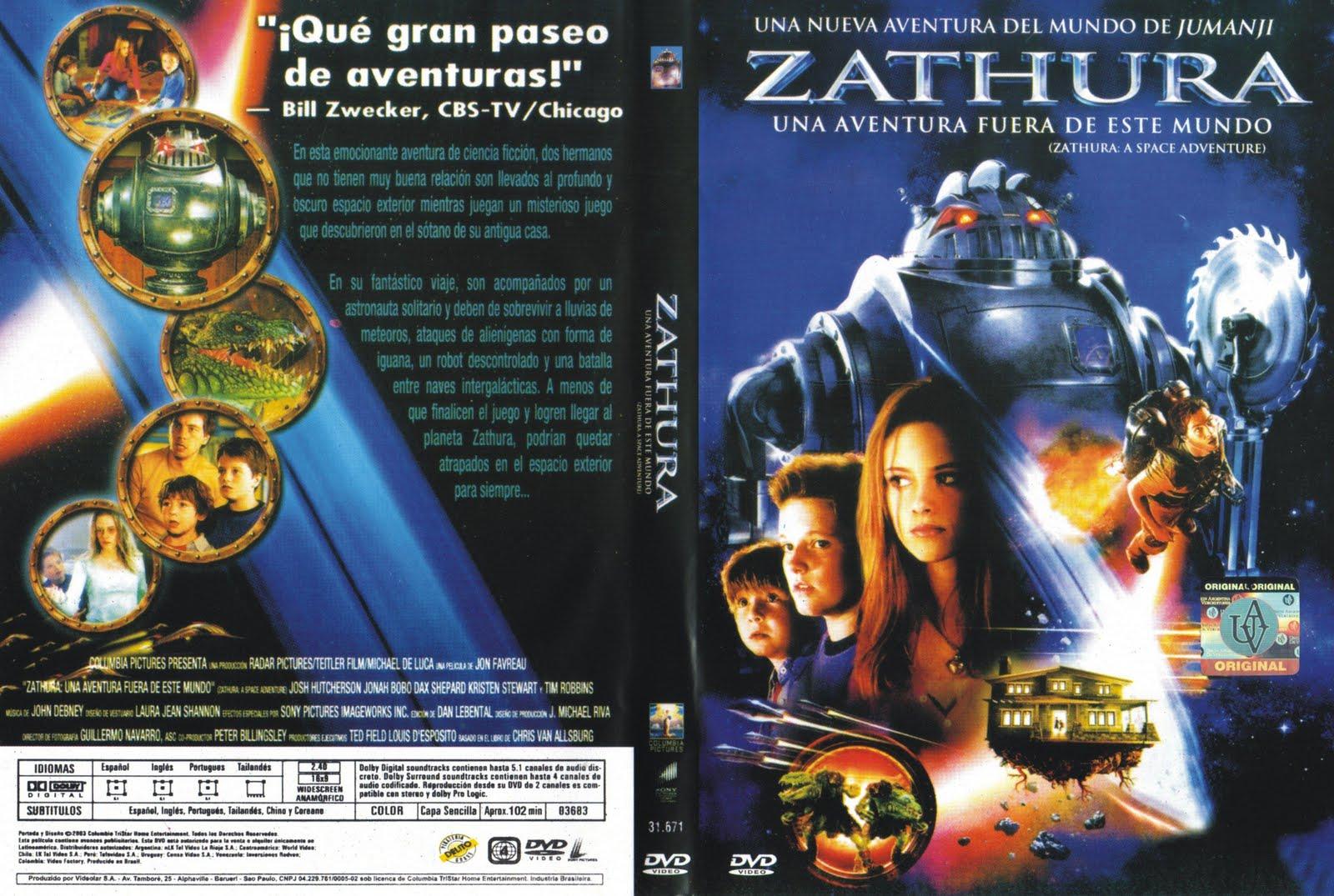 Caratulas dvd video caratulas z for Fuera de este mundo pelicula