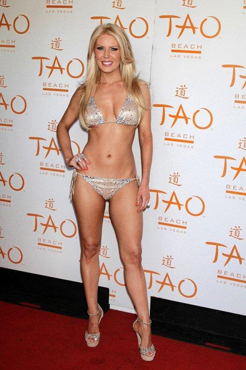 Gretchen Rossi At Tao Beach In Las Vegas So Hot Top