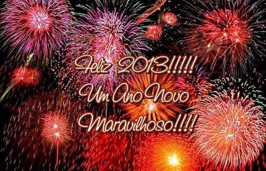 feliz 2013, um ano novo maravilhoso!