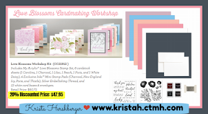 Love Blossoms Cardmaking Kit!
