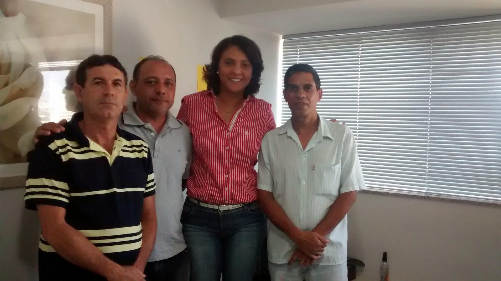 Deputada Federal Andreia Zito mais uma colaboradora da Causa QESA