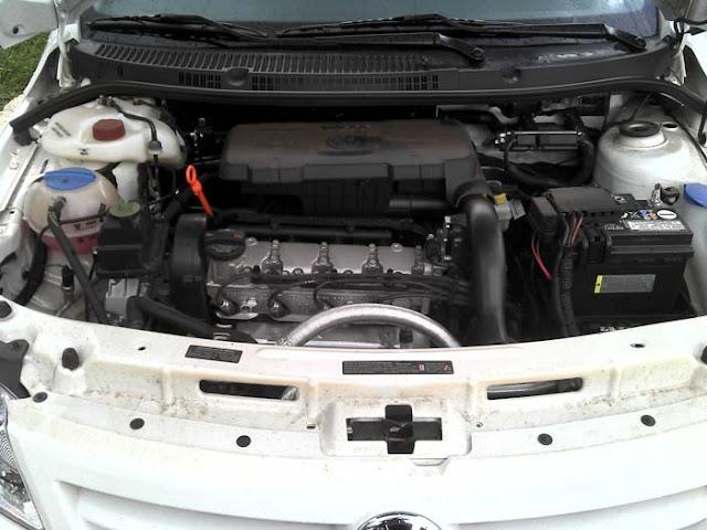Volkswagen Gol G5 2011 1.0 Trend - motor