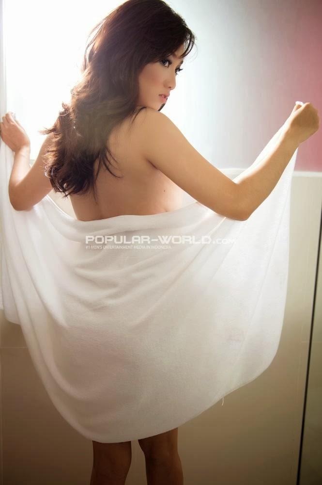 Profile and Photoshoot Virly Virginia Sexy Model Popular Magazine Januari 2014
