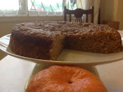 Gluten Free Mandarin Pudding Cake is sinfully rich and flavorful (flourless mandarin orange pudding cake)