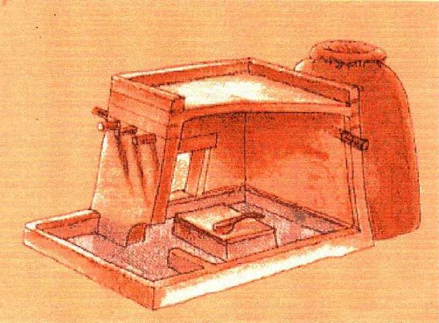 Baño de vapor - Casas mayas - Historia de las civilizaciones