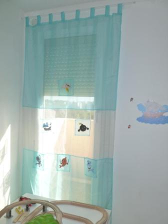 La petite maison de sylvie rideau enfant pirates for Rideau pirate chambre