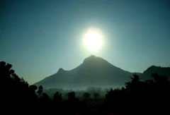 FULL-MOON OVER ARUNACHALA
