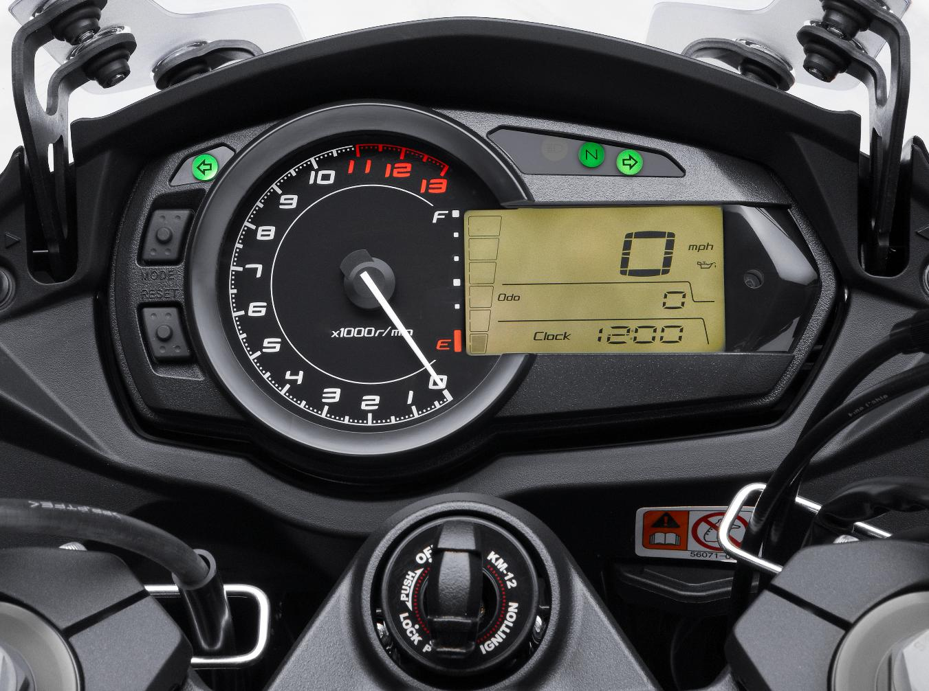 Kawasaki Ninja 1000 2011 dashboard   Motorcycle Wallpapers