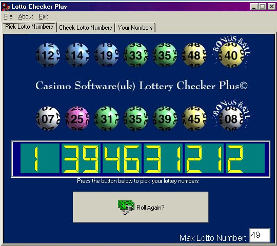 Lottery Software Cds : Eye On The Oz Lotto
