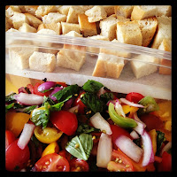 proto-panzanella... just add the bread and it's good to go