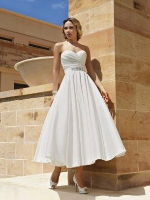Demetrios Short Wedding Dress