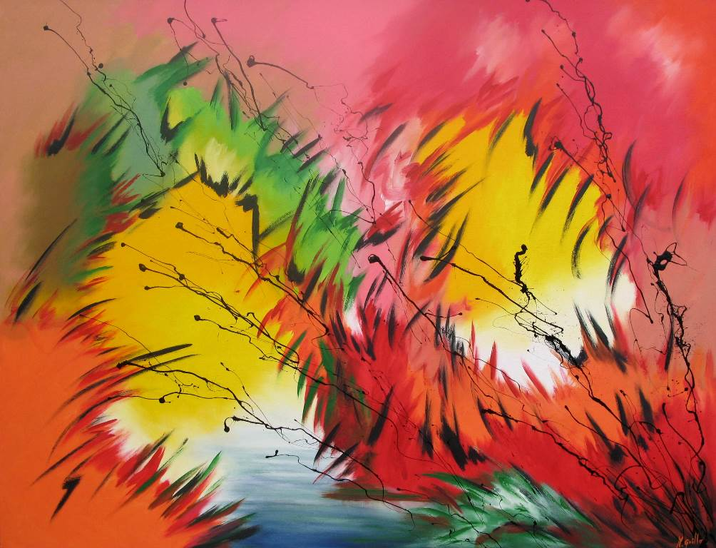 Pintura moderna y fotograf a art stica pintura abstracta - Fotos cuadros abstractos ...