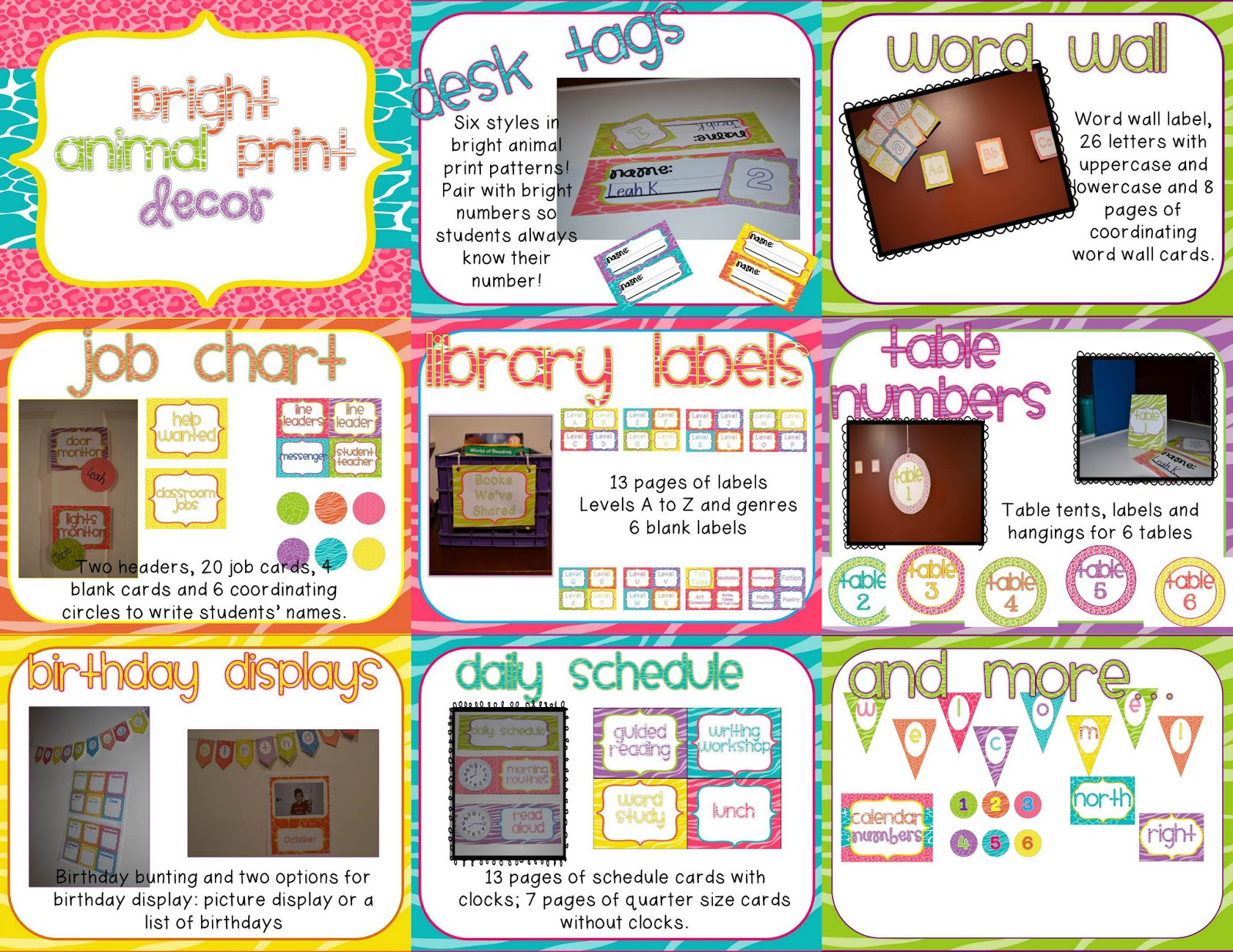Classroom Decorating Ideas With Zebra Print ~ Misskinbk a fifth grade bright animal print