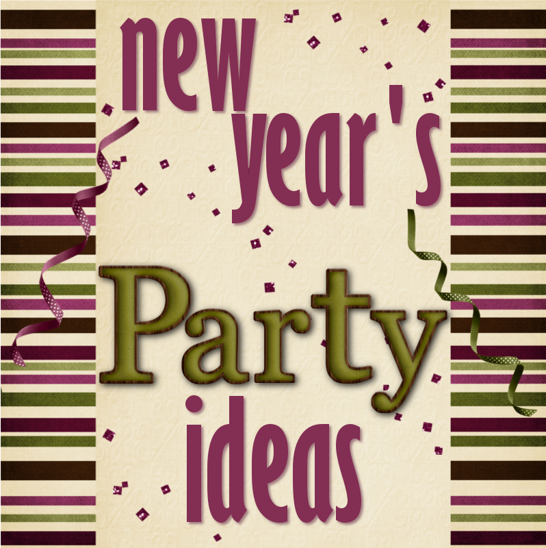 New Years Ideas: Someday Crafts: New Year's Party Ideas