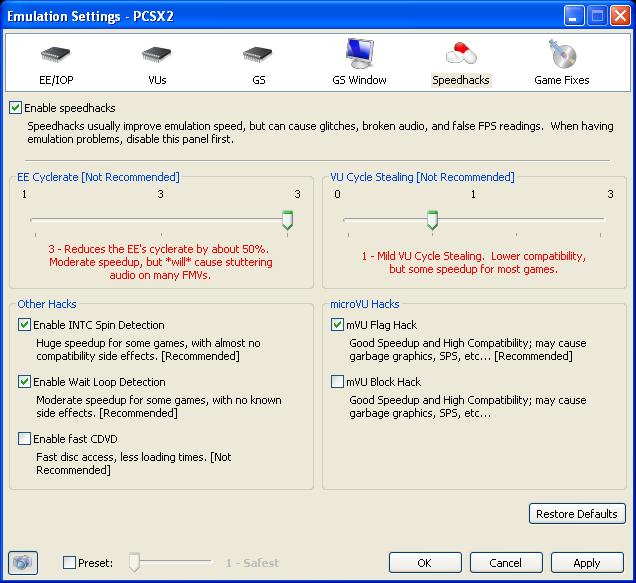 pcsx2 1.2.1 инструкция по настройке