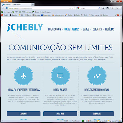 Screen shot of http://jchebly.com.br/o-que-fazemos.php.