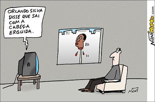 Orlando Silva sai de cabeça erguida