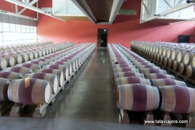 Sala Fermentacion Malolactica Bodegas Roda, Haro