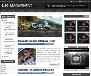 LK Magazine v2 Blogger Template