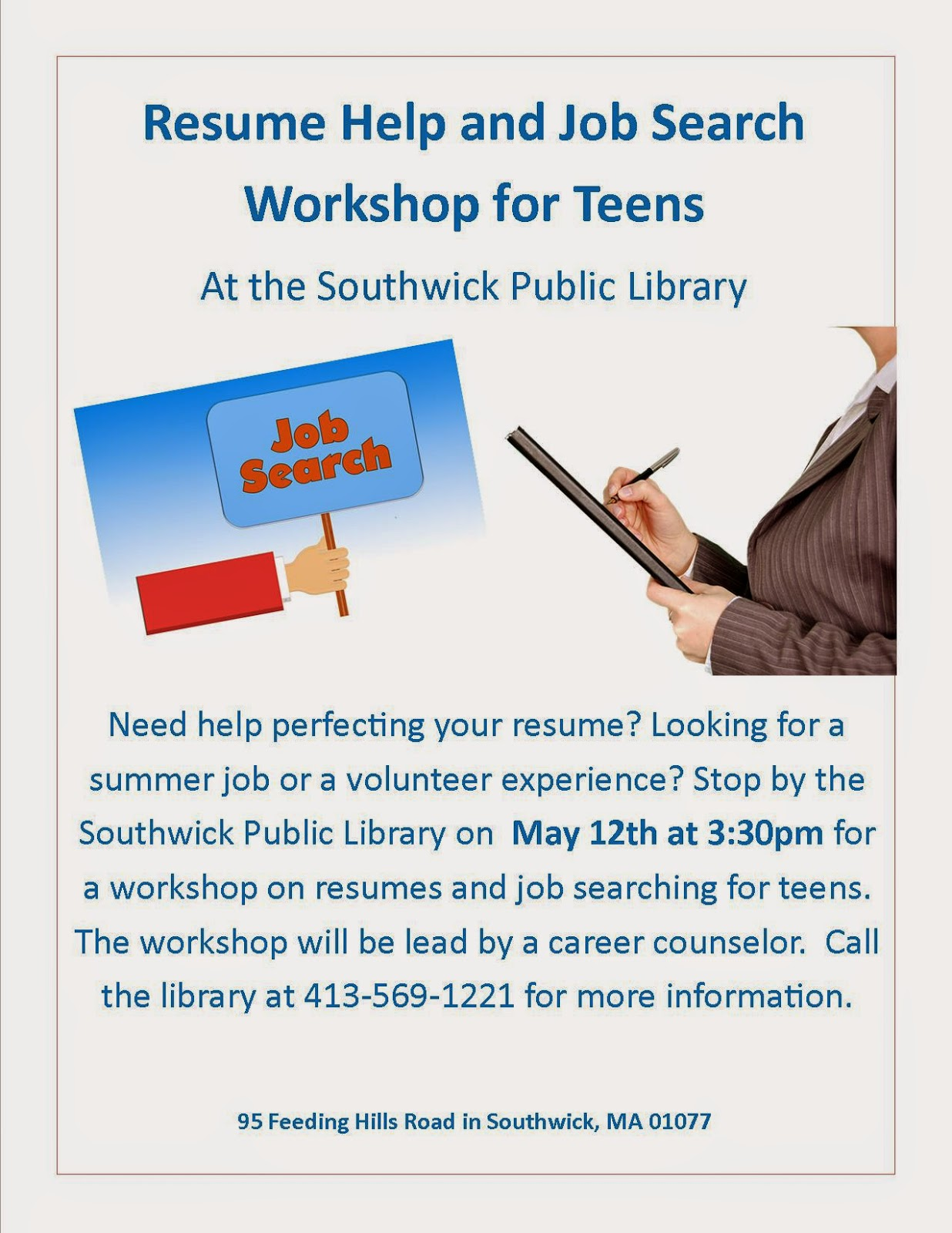 Southwick Public Library Teens May Teen Events