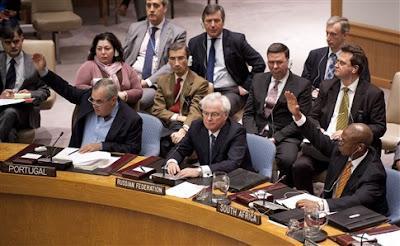 Rússia e China vetam resolução do Conselho de Segurança sobre Síria