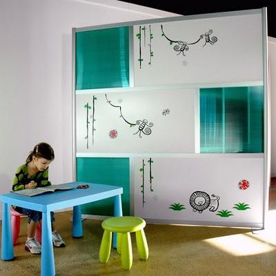Arredamenti moderni idee per i divisori di stanze for Divisori sospesi