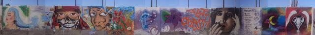 taller de graffiti en mejillones, chile izak