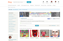 Etsy Storefront