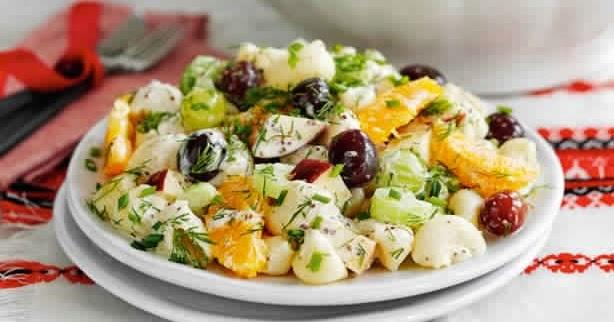 Slimming world: Luxury potato salad.
