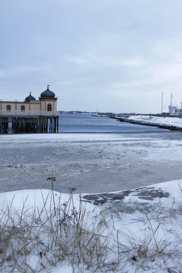 kallbadhuset, varberg, vinter, 2014, kallbad, bastu, fina byggnader,
