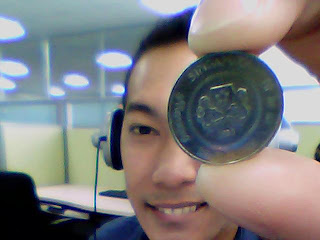 Day 25: 10 Cent Singapore Coin Back