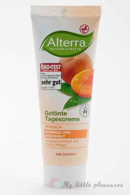 Alterra - Brzoskwiniowy krem tonujący na dzień