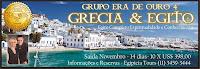 Viagem Grupo Era de Ouro: Egito e Grécia 2014 - Saída Novembro 2014 (10 x US$ 399,00) tudo incluso.